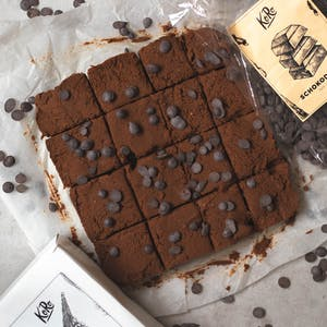 Peperkoek brownies