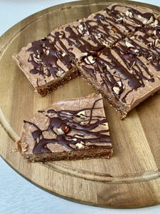 Healthy Hazelnut Nougat Bars