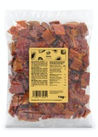 Dried papaya pieces without additives | 1 kg
