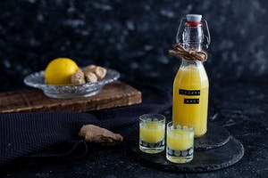 Energy booster gingembre-citron