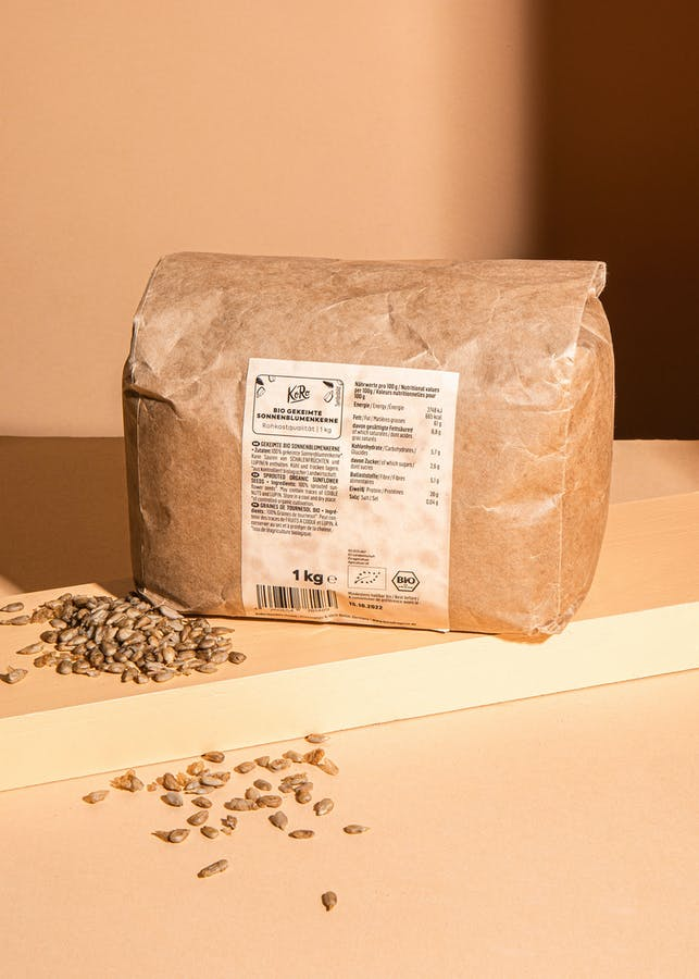 Organic sprouted sunflower seeds | 1 kg