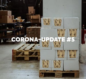 Corona update #5: catching up on the delivery backlog