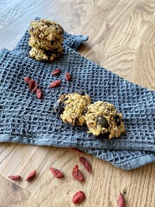 Goji berry - pumpkin seed - cookies