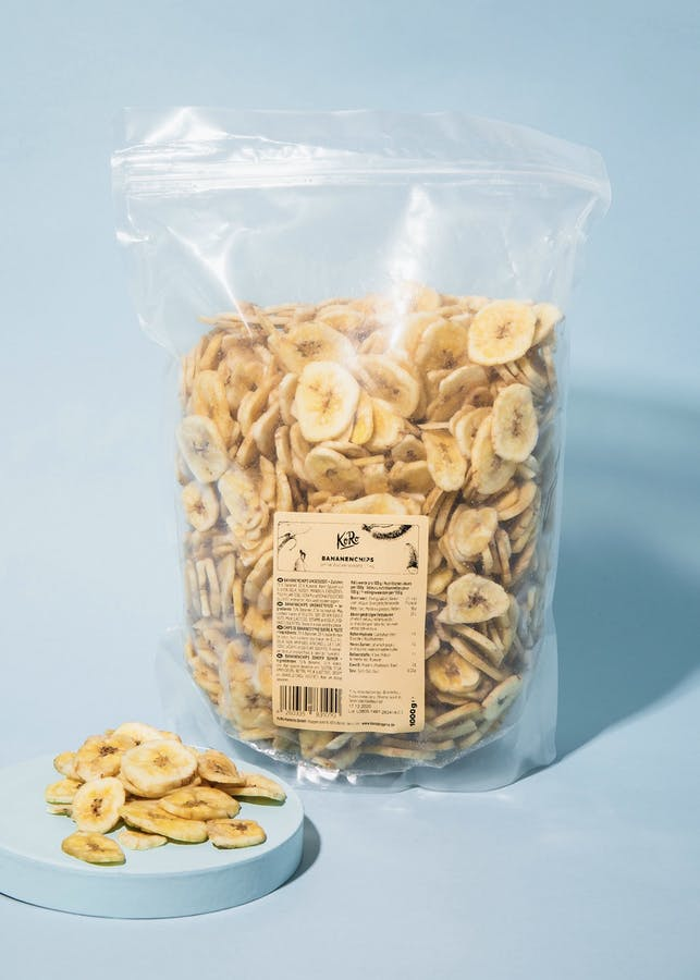 Banana chips with no added sugar 1 kg