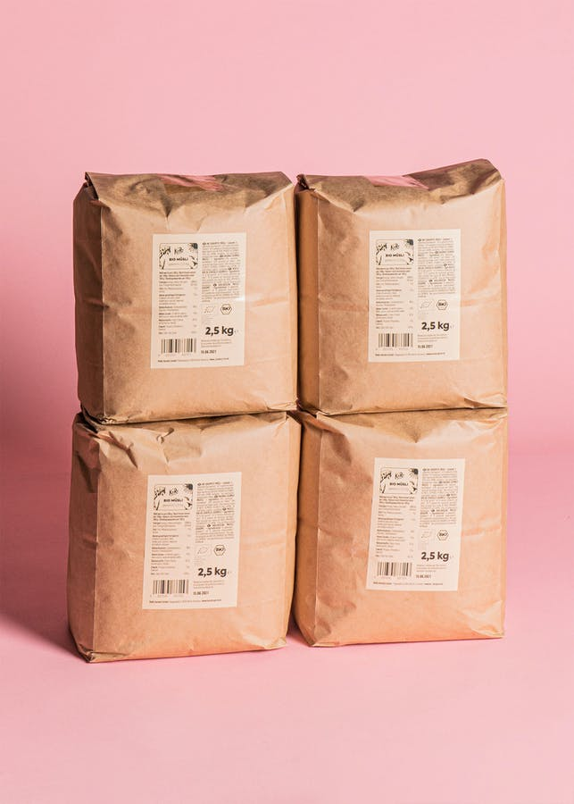 Organic sprouted muesli | 4 x 2,5 kg