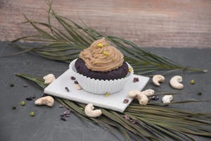 Mocca-Cashew Cupcakes