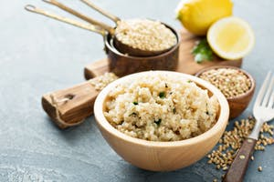 Lemon-Quinoa