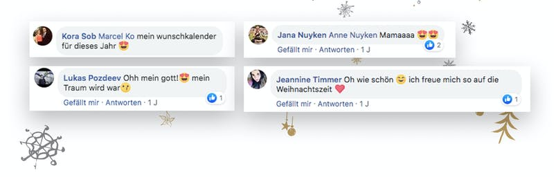 Social Proof Adventskalender 2019