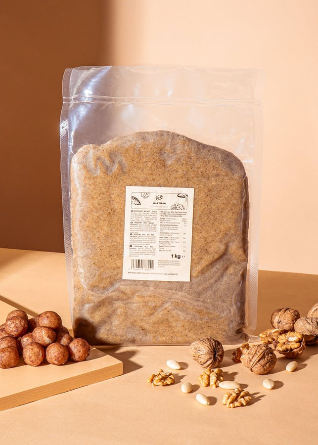 Marzipan with walnuts 1 kg