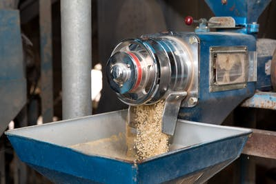 When the rice is dry enough, mill processing begins. The first step is to remove the husks, which make up around 20% of the original weight. Once eliminated,...