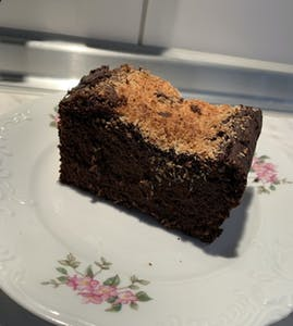 Pumpkin-coconut-chocolate cake