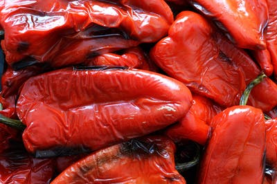 After being harvested, our organic peppers are thoroyghly washed, and prepared for the roasting process that will enhance their taste. A nice side effect of...