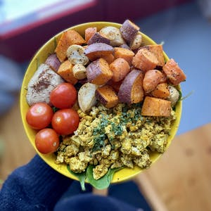 Scrambled Tofu Bowl