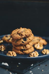 Walnuss-Chocolate-Chip-Cookies