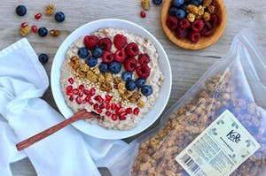 Bircher muesli con superfood