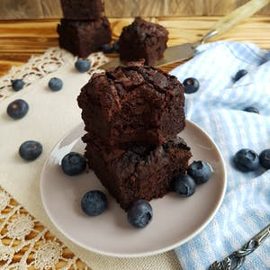 Brownie vegan aux haricots rouges