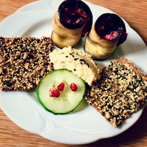 Quinoa hemp crackers