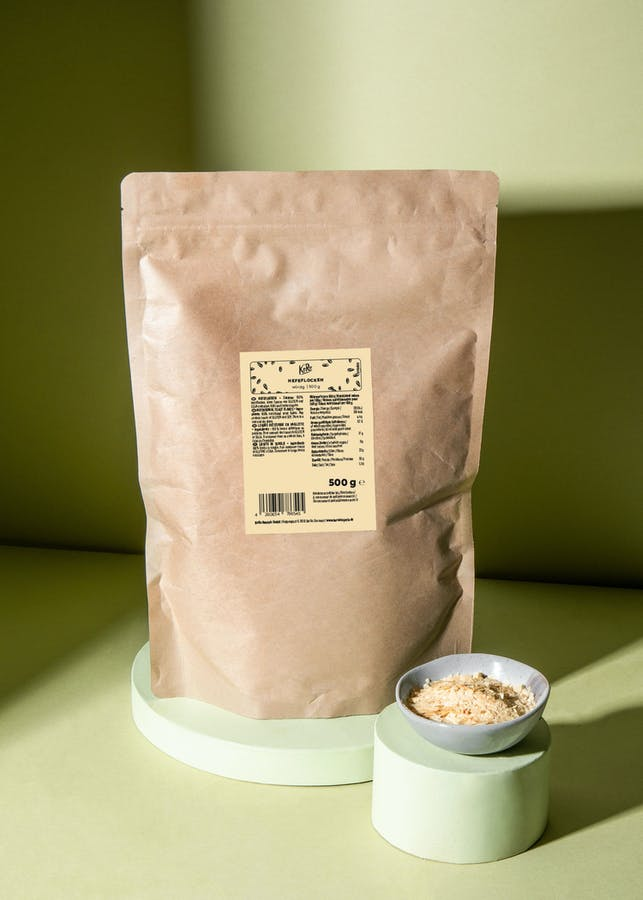 Non-fortified nutritional yeast flakes 500 g