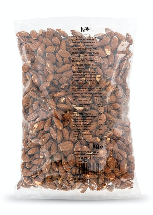Roasted and salted almonds | 1 kg
