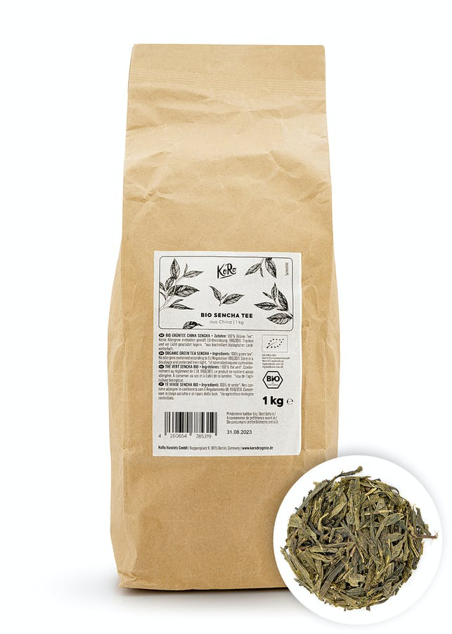 Organic Sencha green tea 500 g
